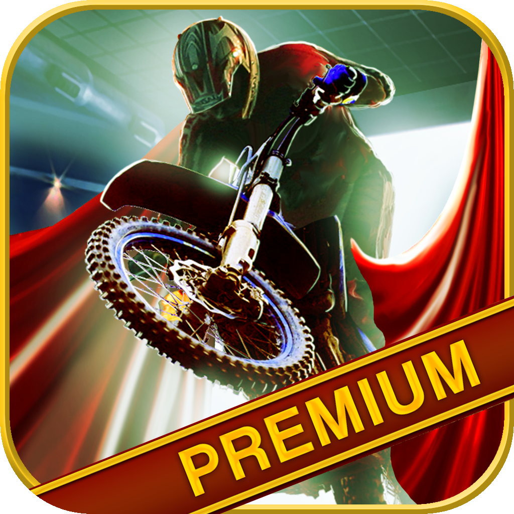Stunt Biker From Hell 3D Premium - Fast Motorcycle Racer Game with Movie Making